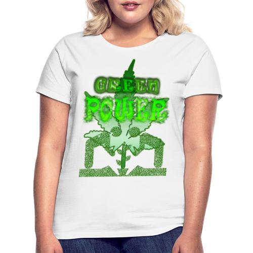 Green Power - T-shirt Femme
