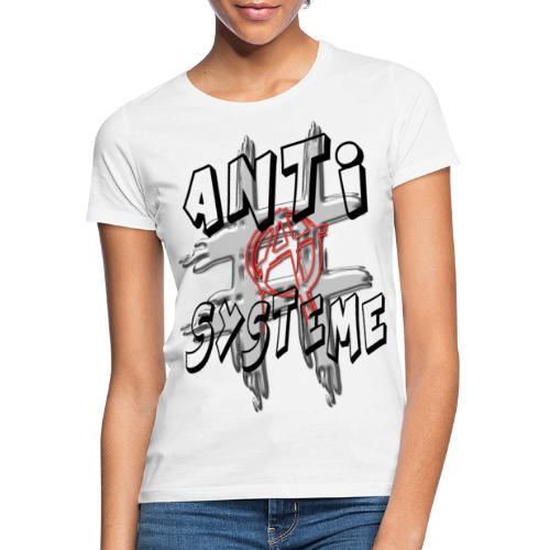 H-Tag Anti Système - T-shirt Femme