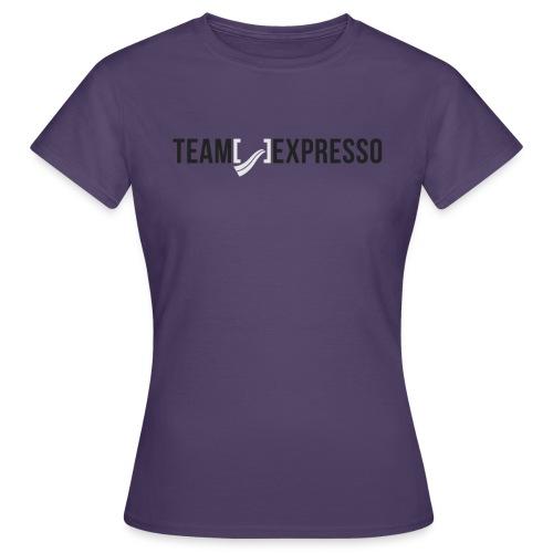 Team Expresso Shirt Logo png - Women's T-Shirt