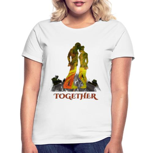 Together -by- T-shirt chic et choc - T-shirt Femme