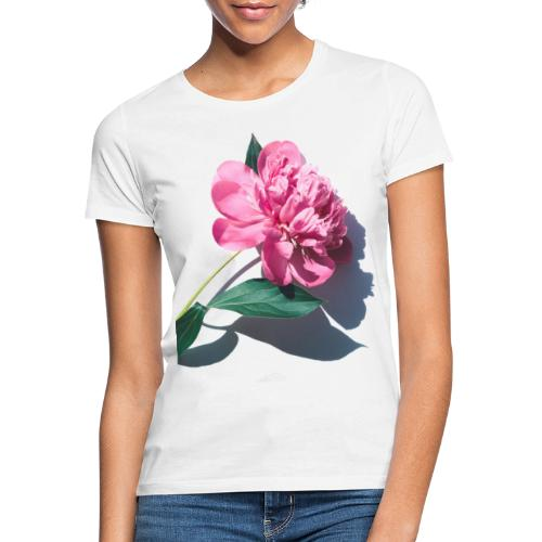big pink flower - Vrouwen T-shirt