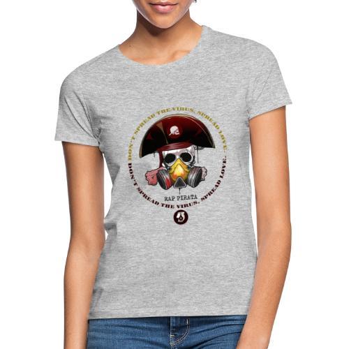 RAPPIRATA X iorestoacasaArtistiUniti - Maglietta da donna