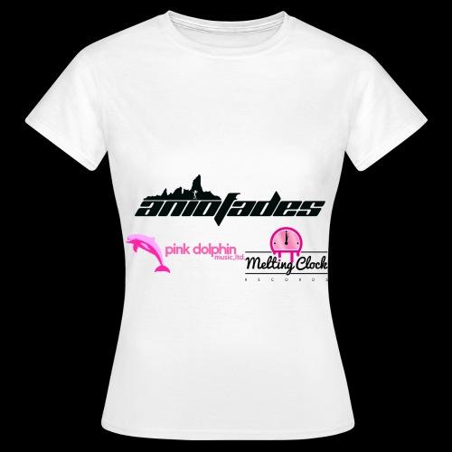 aNIofaDES logo - Women's T-Shirt