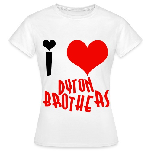 i love db - Women's T-Shirt