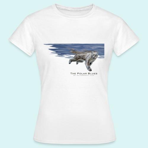 Polar-Blues-SpSh - Women's T-Shirt