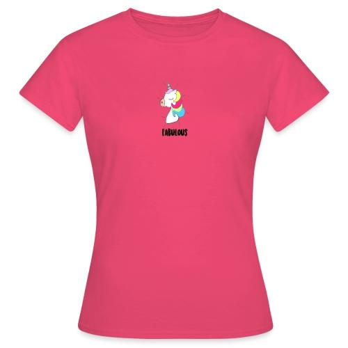 Fabulous Unicorn - T-shirt Femme