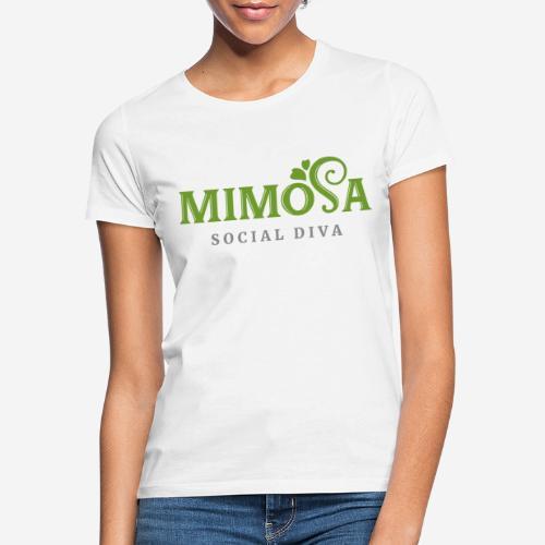 mimosa social diva - Frauen T-Shirt