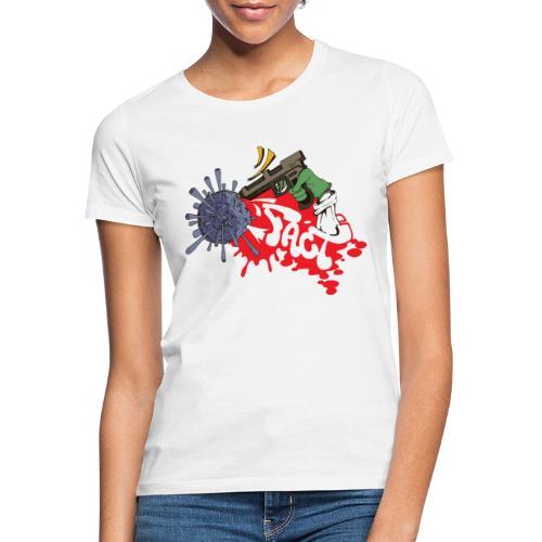 FACT CSC X iorestoacasaArtistiUniti - Maglietta da donna