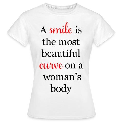 Woman's smile - Maglietta da donna