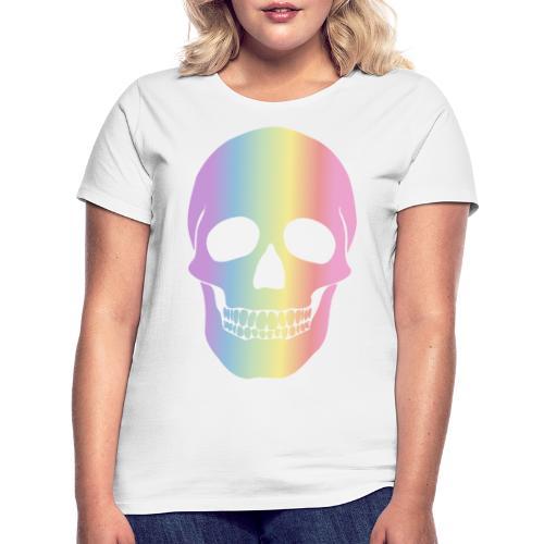 Rainbow Skull - Naisten t-paita