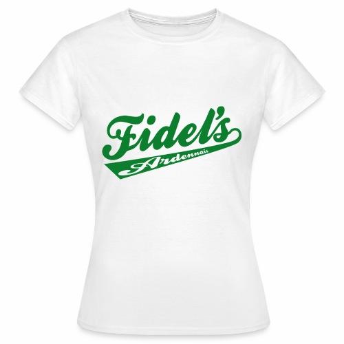 FIDEL S ARDENNAIS VERT - T-shirt Femme