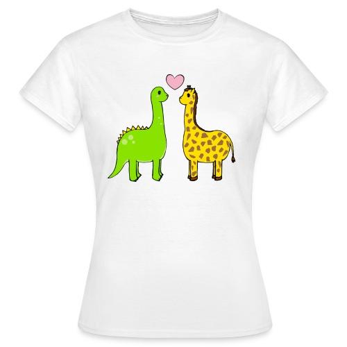 Dino Giraffe True - T-shirt dam