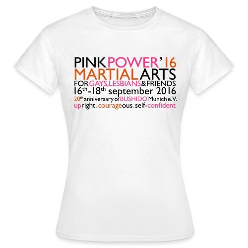 PINK POWER 16 - Logo T-Sh - Frauen T-Shirt