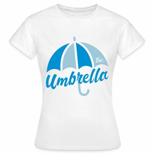 Umbrella Inc. Tipo under logo - Camiseta mujer