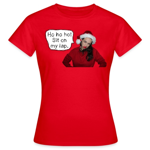 sitonmylap02 - Women's T-Shirt