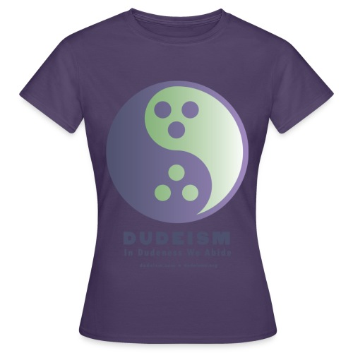 Dudeismo Bowling Ball - Maglietta da donna