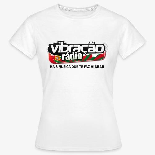logo vibração png - T-shirt Femme