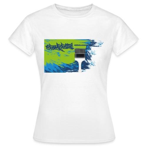 pinsel - Frauen T-Shirt
