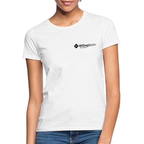 AGWiIng Logo + Baer - Frauen T-Shirt
