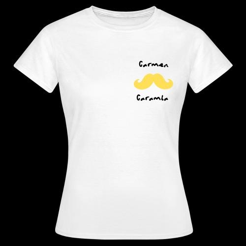 Bigote Caramba Dark - Camiseta mujer