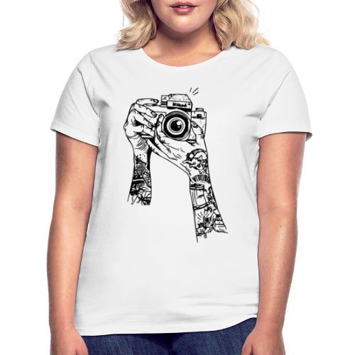 MACCHINA FOTOGRAFICA - Maglietta da donna