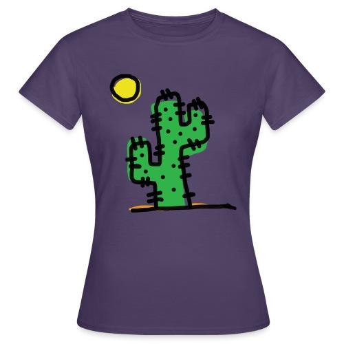 Cactus single - Maglietta da donna