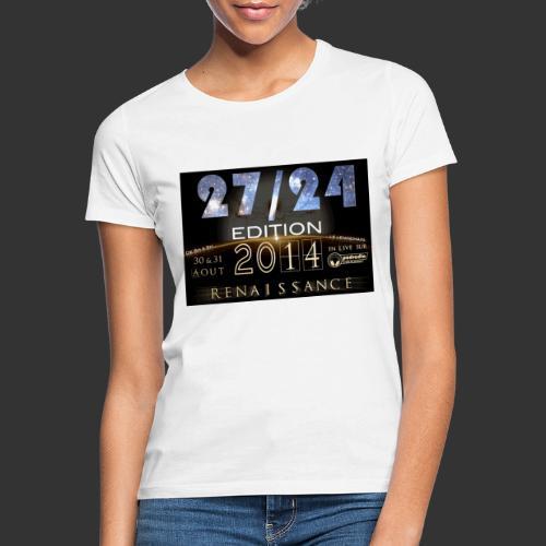 27 24 ed 2014 - T-shirt Femme