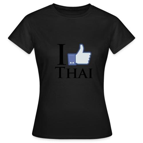 I Like Thai Weiss - Frauen T-Shirt