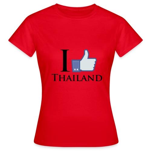 Like Thailand Weiss - Frauen T-Shirt