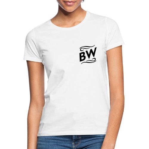 Black BW logo - T-shirt dam