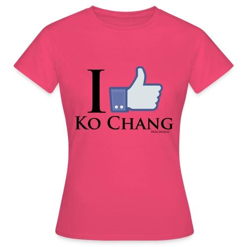 Like Ko-Chang Black - Frauen T-Shirt