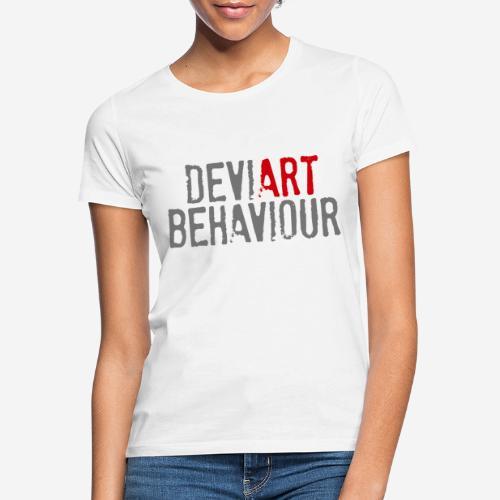Verhalten von Kunstkünstlern - Frauen T-Shirt