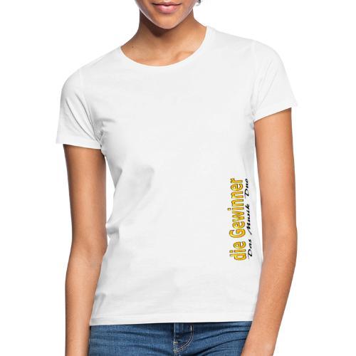 Das Moderne Schwarze Etwas Schräg - Frauen T-Shirt