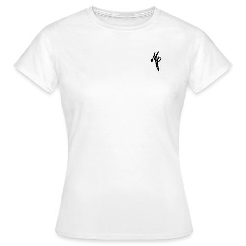 Black Signature MP Logo - Women's T-Shirt