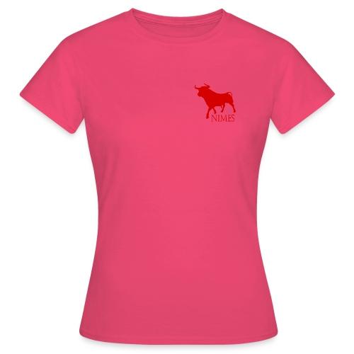 Toro Nîmes rouge - T-shirt Femme