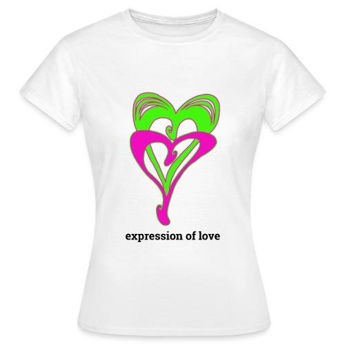 Liebe, Affirmation - Frauen T-Shirt