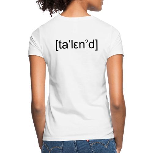 Talent - Dame-T-shirt