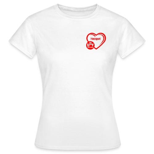 Herzsportlogo klein - Frauen T-Shirt