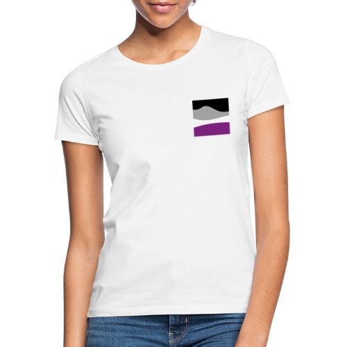 Nicht gerade Asexualität Flagge - Frauen T-Shirt