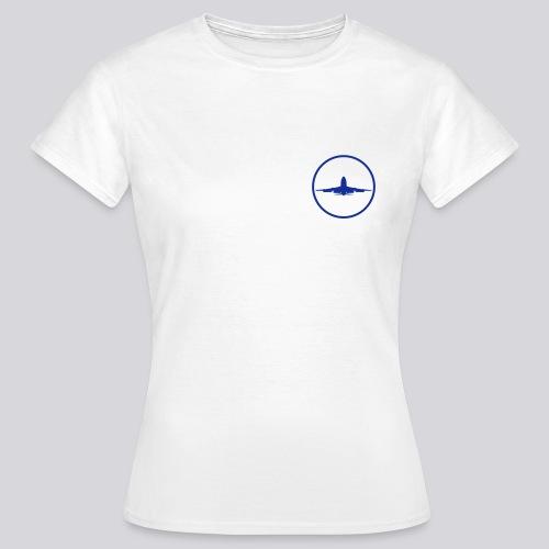 IVAO (symbole bleu) - T-shirt Femme