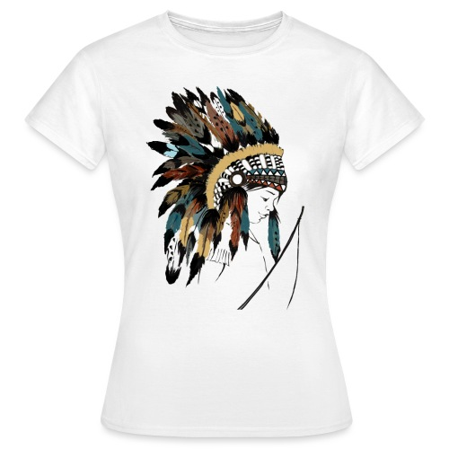 indian boy - T-shirt Femme