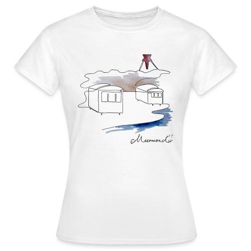 Blokhus 1 - logo - Dame-T-shirt