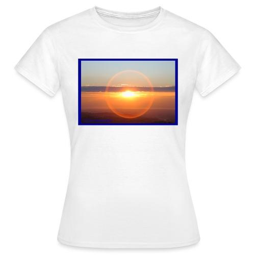Sunset with optical effect - Maglietta da donna