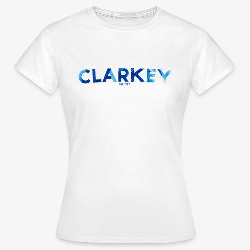 Clarkey Text1 - Women's T-Shirt