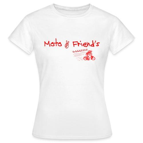 MotoSolexRouge - T-shirt Femme