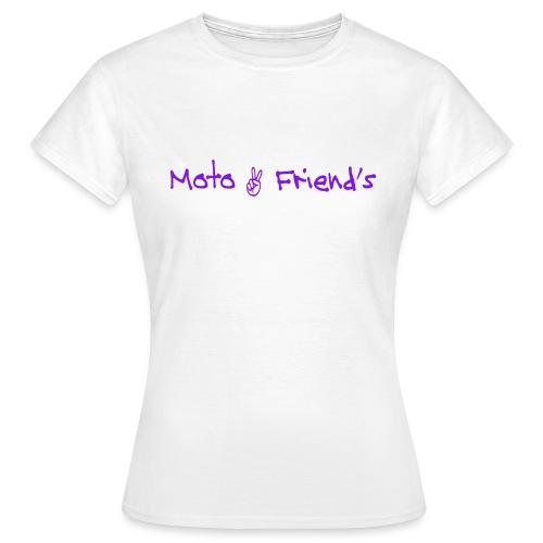 testviolet - T-shirt Femme