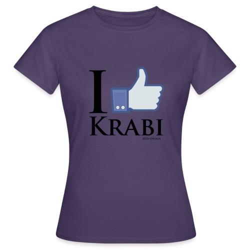 I Like Krabi Black - Women's T-Shirt