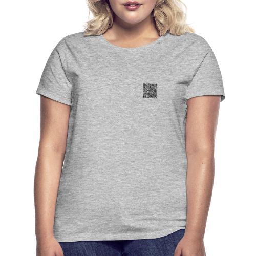 qr code Kopie - Frauen T-Shirt