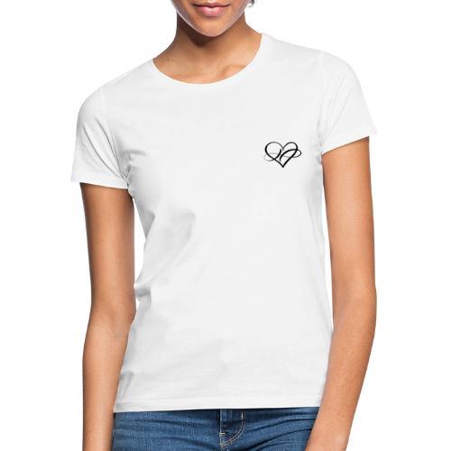 heart love sign forever logo infinity romantic - Frauen T-Shirt