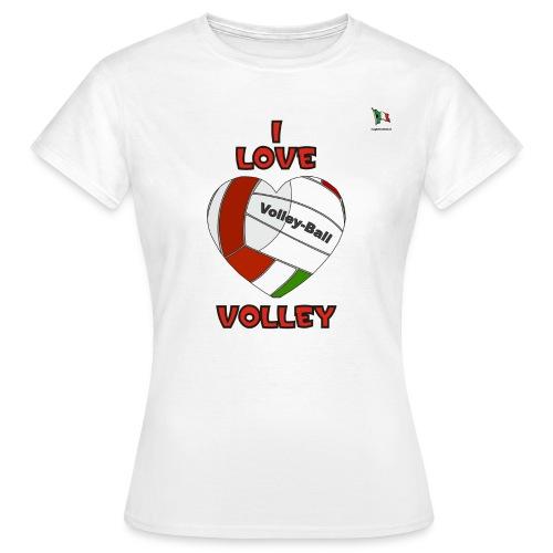 i love volley - Maglietta da donna